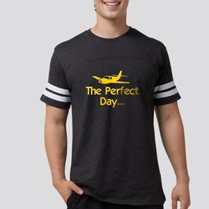 pilot airplane flying Mens Football Shirt