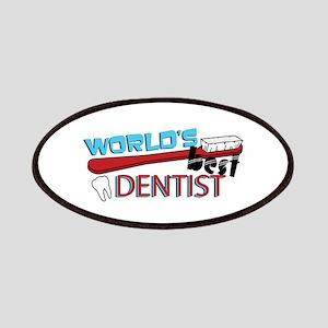 Worlds Best Dentist Patches