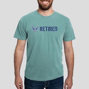 USAF: Retired Mens Comfort Colors Shirt