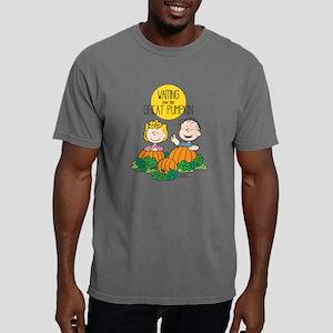 Peanuts Waiting on the G Mens Comfort Colors Shirt
