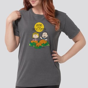 Peanuts Waiting on the Womens Comfort Colors Shirt