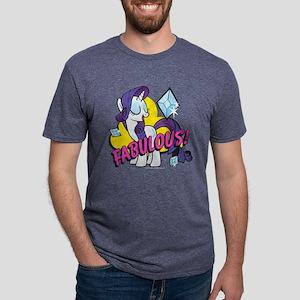 MLP Rarity Fabulous! Dark Mens Tri-blend T-Shirt