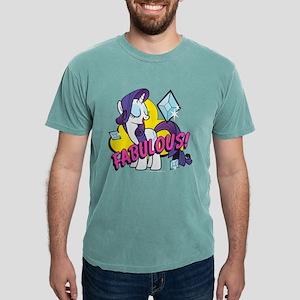 MLP Rarity Fabulous! Dar Mens Comfort Colors Shirt