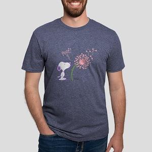 Snoopy - Dandelion Mens Tri-blend T-Shirt