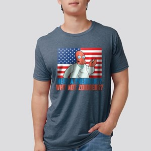 Futurama Why Not Zoidberg L Mens Tri-blend T-Shirt
