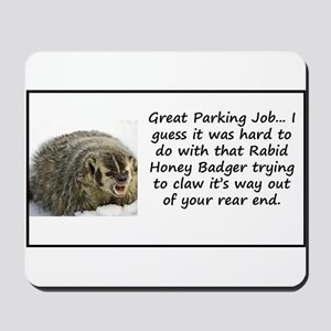 Tell bad drivers how you feel Mousepad