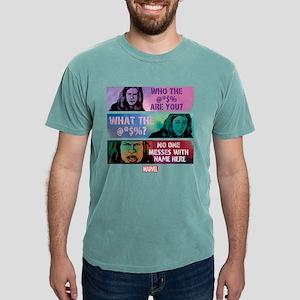 Jessica Jones Personaliz Mens Comfort Colors Shirt