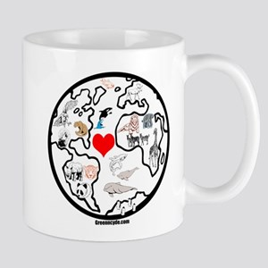 World animals Mug