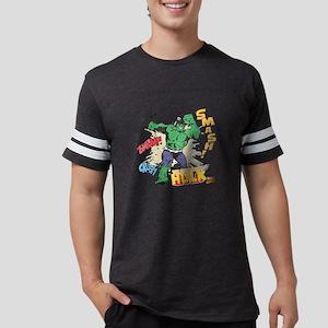 Hulk-Smash Mens Football Shirt