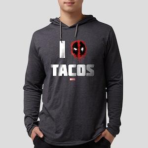 Deadpool Tacos Dark Mens Hooded Shirt