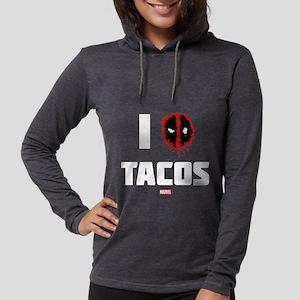 Deadpool Tacos Dark Womens Hooded Shirt