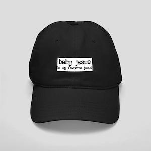 """Baby Jesus"" Black Cap"