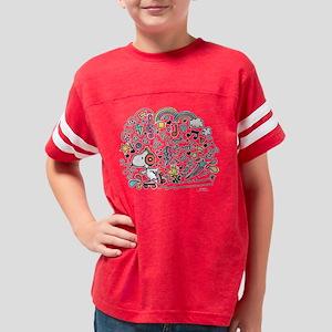 Peanuts Back to School Youth Football Shirt