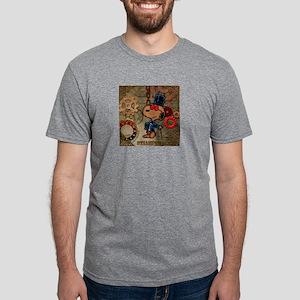 Steampunk Snoopy Mens Tri-blend T-Shirt