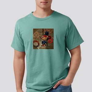 Steampunk Snoopy Mens Comfort Colors Shirt