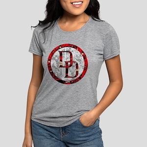 MC Daredevil Logo Collage Womens Tri-blend T-Shirt