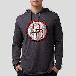 MC Daredevil Logo Collage Mens Hooded Shirt