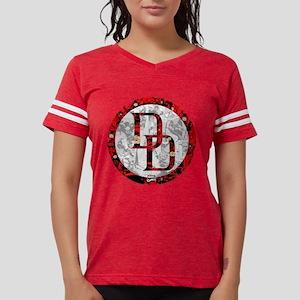 MC Daredevil Logo Collage Womens Football Shirt
