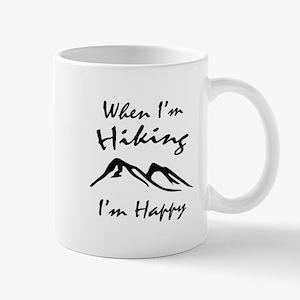 Hiking (Black) Mug