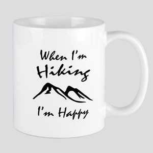 Hiking (Black) Mug