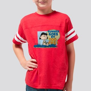 Lucy-Summer Goes By Too Fast Youth Football Shirt