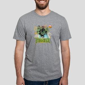 Phoenix Flowers Mens Tri-blend T-Shirt