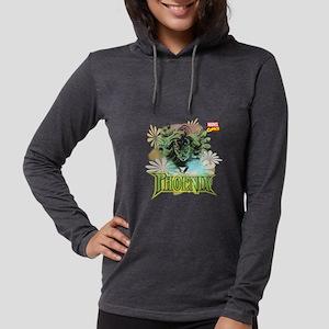 Phoenix Flowers Womens Hooded Shirt