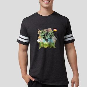 Phoenix Flowers Mens Football Shirt