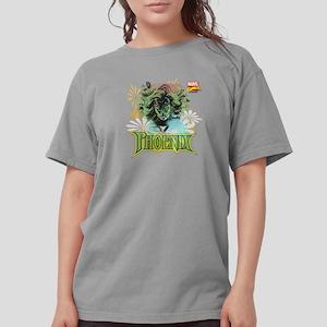 Phoenix Flowers Womens Comfort Colors Shirt