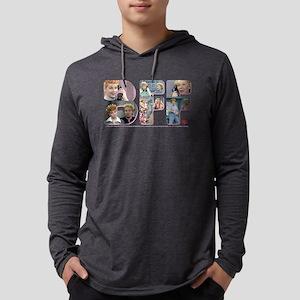 I Love Lucy: BFF Dark Mens Hooded Shirt