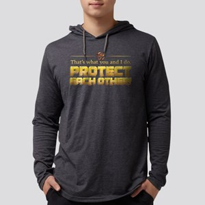 Protect Mens Hooded Shirt