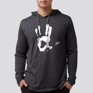 Vulcan Hand Sign Mens Hooded Shirt