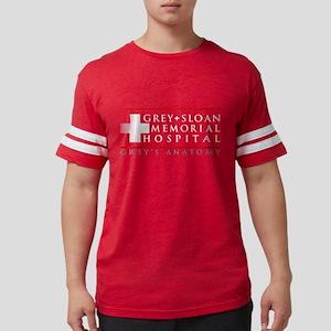 Grey   Sloan Memorial Hospital Mens Football Shirt