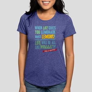 Modern Family Make Lemona Womens Tri-blend T-Shirt