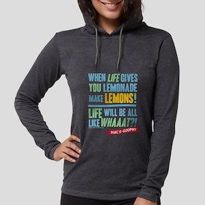 Modern Family Make Lemonades Womens Hooded Shirt