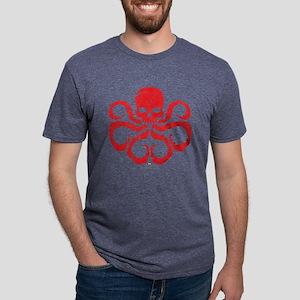 Hydra-Simple Mens Tri-blend T-Shirt