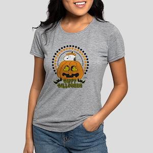 Snoopy - Happy Halloween Womens Tri-blend T-Shirt