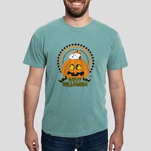Snoopy - Happy Halloween Mens Comfort Colors Shirt