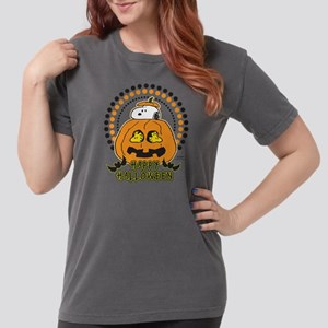 Snoopy - Happy Hallowe Womens Comfort Colors Shirt