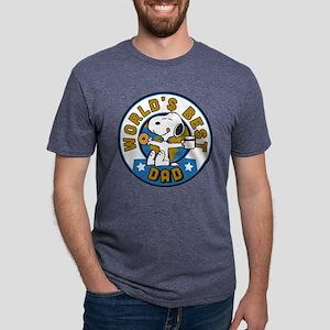 Peanuts' Father's Day Mens Tri-blend T-Shirt