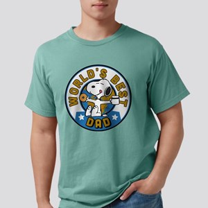 Peanuts' Father's Day Mens Comfort Colors Shirt