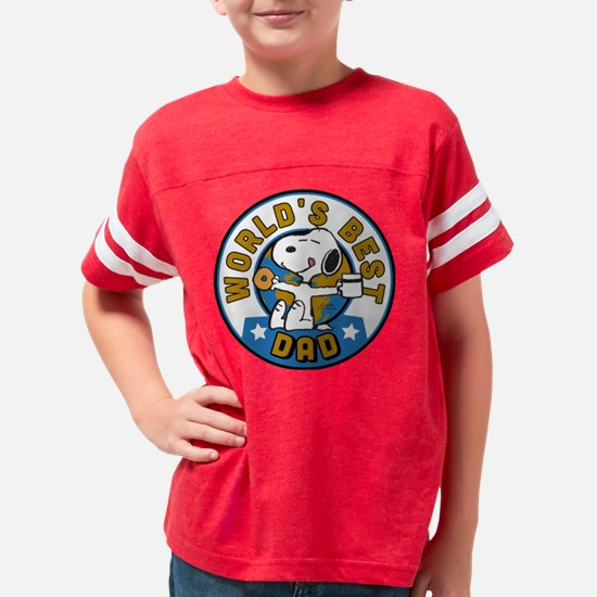 Peanuts' Father's Day Youth Football Shirt