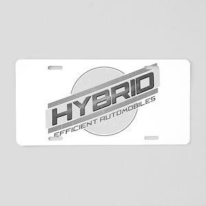 Hybrid Automobiles Aluminum License Plate