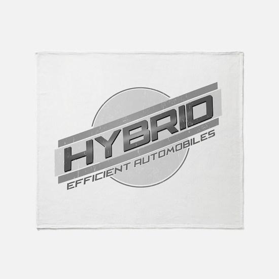 Hybrid Automobiles Throw Blanket