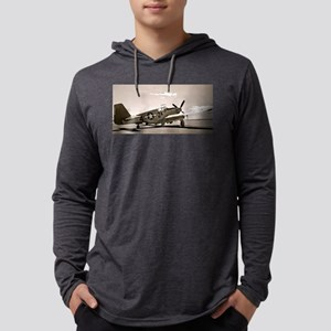 Tuskegee P-51 Mens Hooded Shirt