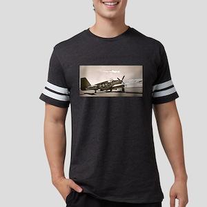 Tuskegee P-51 Mens Football Shirt