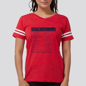NCIS Gibbs' Rules Womens Football Shirt