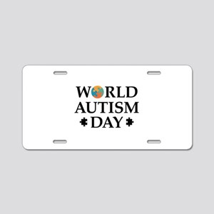 World Autism Day Aluminum License Plate