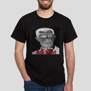 Oust the Ass Head aka Bashar al-Assad Dark T-Shirt