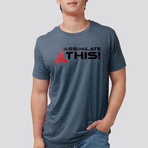 assimilatethis-01 Mens Tri-blend T-Shirt